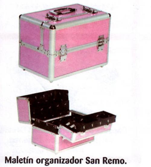 8bd09cc50 MALETIN DE MAQUILLAJE SAN REMO ROSA REF. 36043 - MAQUILLAJE ...